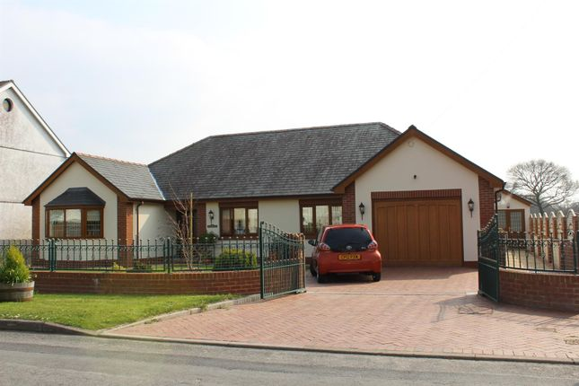 Thumbnail Detached bungalow for sale in Gelly Road, Llandybie, Ammanford