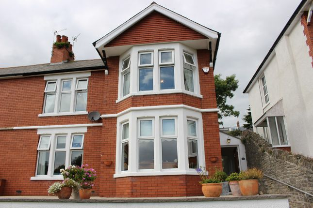 Thumbnail Property for sale in Romilly Park Road, Barry