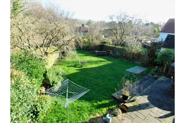 Rear Garden of Maudlin Lane, Steyning BN44