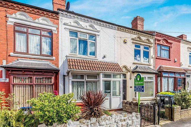3 bed terraced house for sale in Selsey Road, Edgbaston, Birmingham
