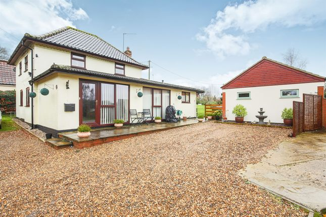 Thumbnail Detached house for sale in Long Lane, Strumpshaw, Norwich