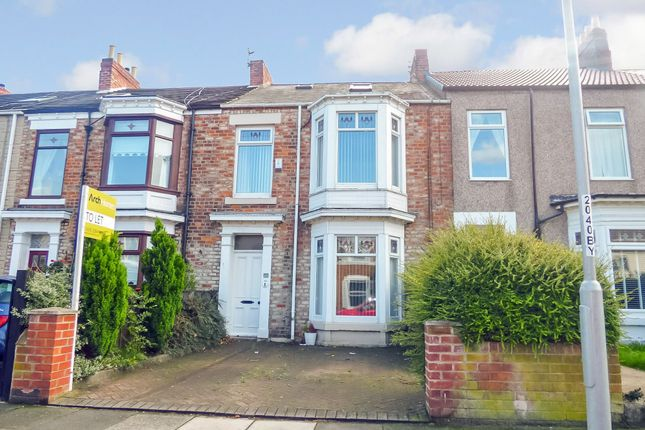 Thumbnail Terraced house to rent in Marine Terrace, Blyth