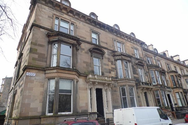 Thumbnail Flat to rent in Belhaven Terrace, Hillhead, Glasgow