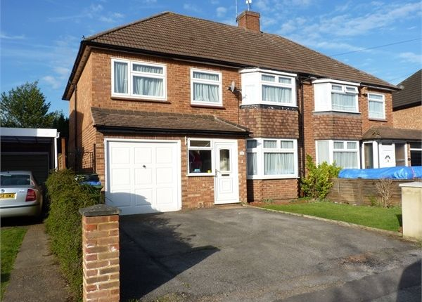Thumbnail Semi-detached house to rent in Havers Avenue, Hersham, Walton-On-Thames, Surrey