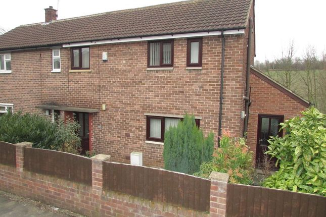 Thumbnail Semi-detached house to rent in Wharncliffe Road, Kettlethorpe, Wakefield
