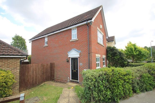 Thumbnail End terrace house to rent in Martens Meadow, Braintree