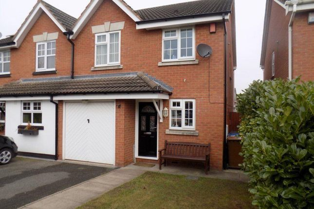 Thumbnail Semi-detached house to rent in Pettiford Close, Lichfield