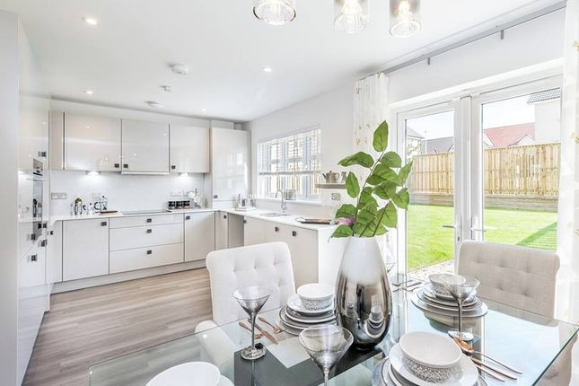 "Thumbnail Terraced house for sale in ""The Avon"" at Evie Wynd, Newton Mearns, Glasgow"