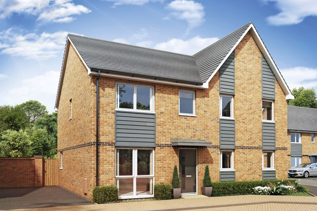 Thumbnail Semi-detached house for sale in Cadet Drive, Shirley, Solihull