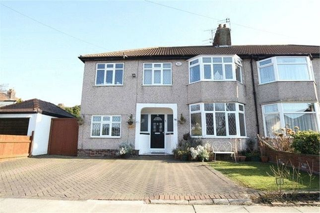 Thumbnail Semi-detached house for sale in Corbridge Road, Chidwall, Liverpool, Merseyside