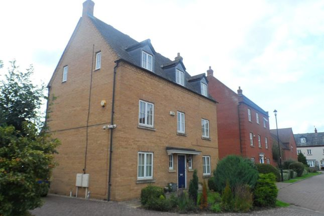 Thumbnail Detached house to rent in Shearwater Drive, Rugby