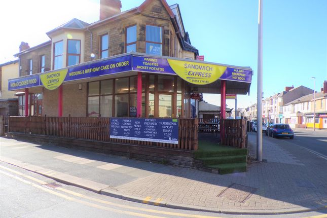 Thumbnail Land to rent in Lytham Road, Blackpool
