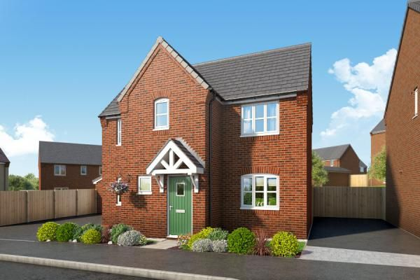 "Thumbnail Property for sale in ""The Blackthorne At Mill Farm, Tibshelf"" at Mansfield Road, Tibshelf, Alfreton"