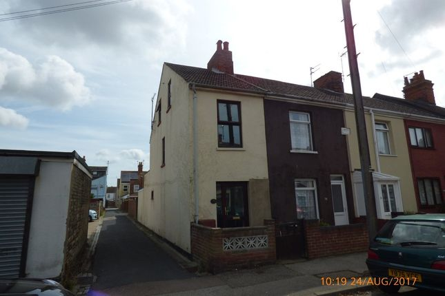 Thumbnail End terrace house to rent in Ipswich Road, Lowestoft