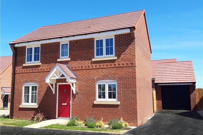 "Thumbnail Detached house for sale in ""Bayton"" at Fleckney Road, Kibworth, Leicester"