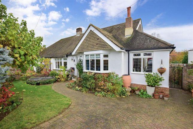 Thumbnail Semi-detached bungalow for sale in Greentrees Avenue, Tonbridge, Kent