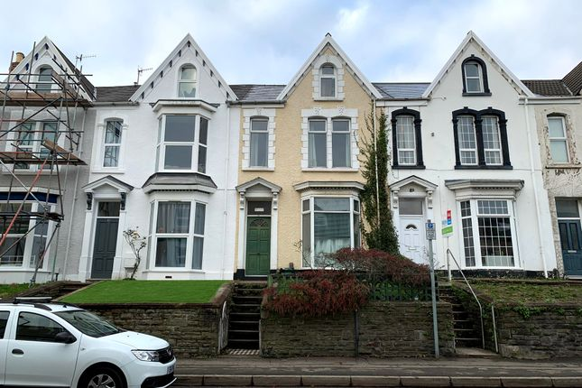 Thumbnail Terraced house to rent in King Edwards Road, Swansea