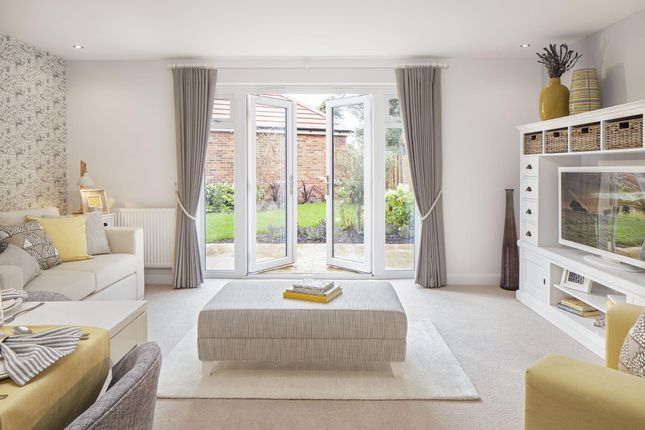 "Thumbnail Terraced house for sale in ""Leeman"" at Locksbridge Road, Picket Piece, Andover"