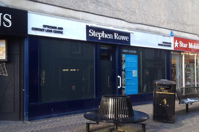 Thumbnail Retail premises to let in 36 Carrick Street, Ayr