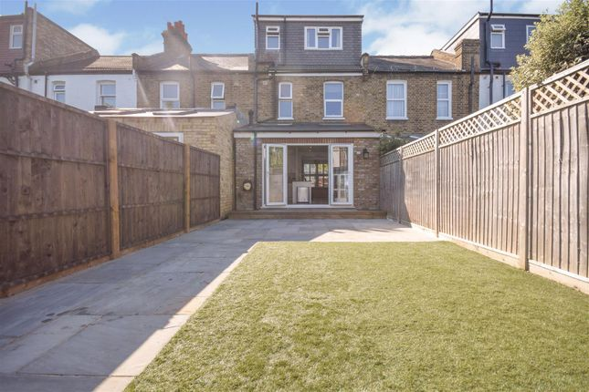 Garden of Prince Georges Avenue, London SW20