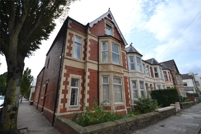 Thumbnail End terrace house for sale in Claude Place, Roath, Cardiff