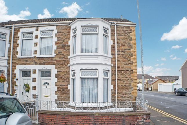 3 bed end terrace house for sale in Hafod Street, Port Talbot, Neath Port Talbot. SA13