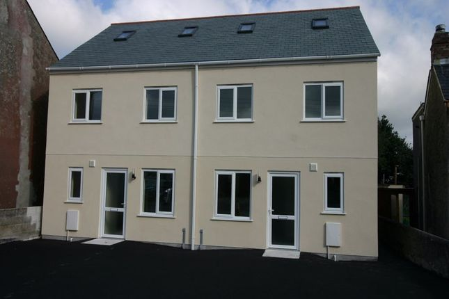 Thumbnail Flat to rent in Rosevear House, Rosevear Road, Bugle, St Austell