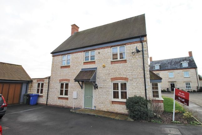 Thumbnail 4 bed semi-detached house to rent in Kennel Lane, Paulespury