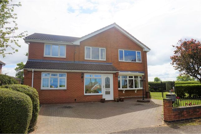 Thumbnail Detached house for sale in Paddock Close, Grantham