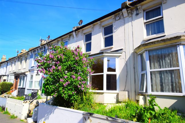 Thumbnail Terraced house to rent in St. Georges Road, Hastings, East Sussex