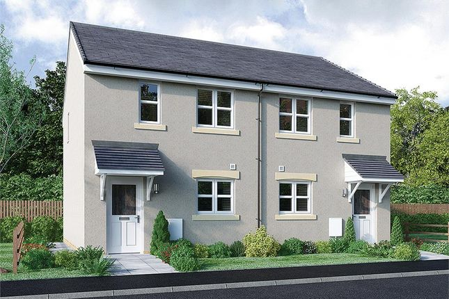 """Thumbnail Mews house for sale in """"Young Mid"""" at Broomhouse Crescent, Uddingston, Glasgow"""