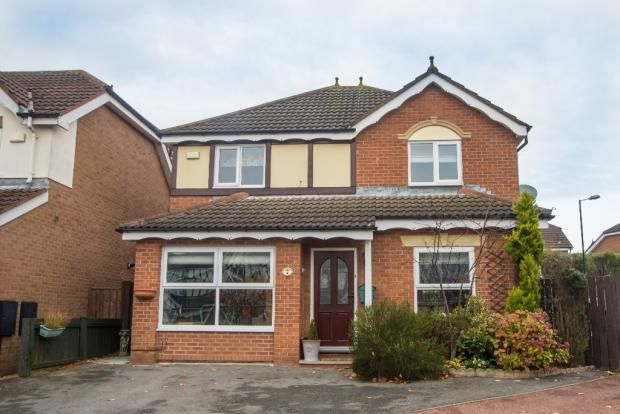Thumbnail Detached house for sale in Hendersyde, Newcastle Upon Tyne