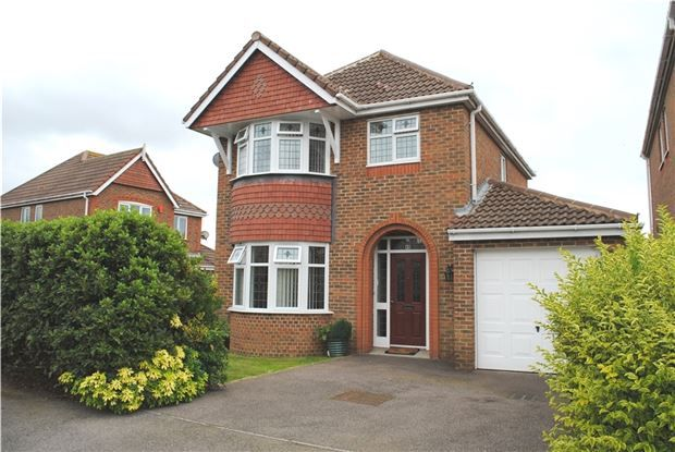 Thumbnail Detached house for sale in Hornbeam Avenue, Bexhill