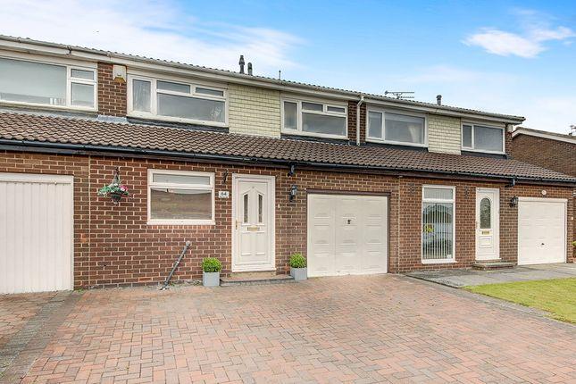Thumbnail Terraced house for sale in Hareside, Cramlington