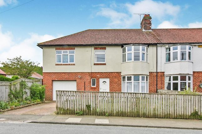 Thumbnail Semi-detached house for sale in Woodlands Road, Consett