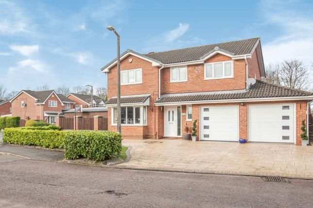 Thumbnail Detached house for sale in Fossdale Moss, Leyland, Lancashire