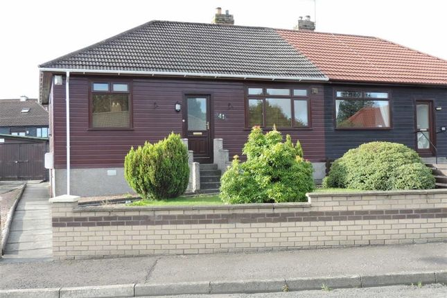 Thumbnail Semi-detached bungalow to rent in 41, Milne Crescent, Cowdenbeath