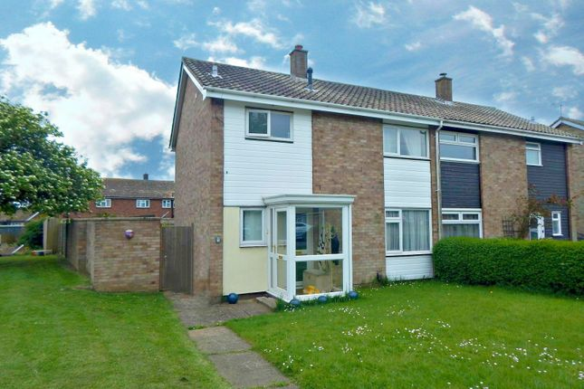 Thumbnail Semi-detached house to rent in Stennetts Close, Trimley St. Mary, Felixstowe