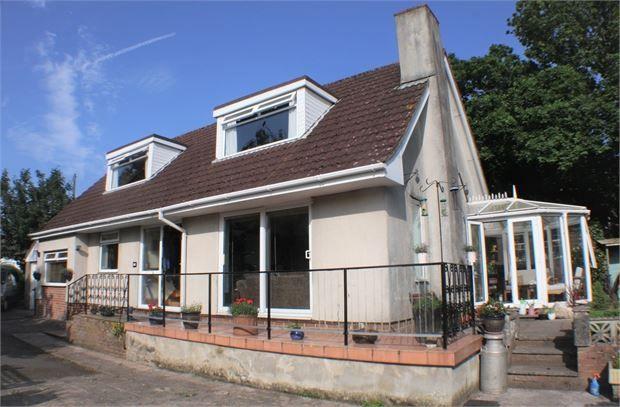 Thumbnail Detached bungalow for sale in Oakland Road, Newton Abbot, Devon.