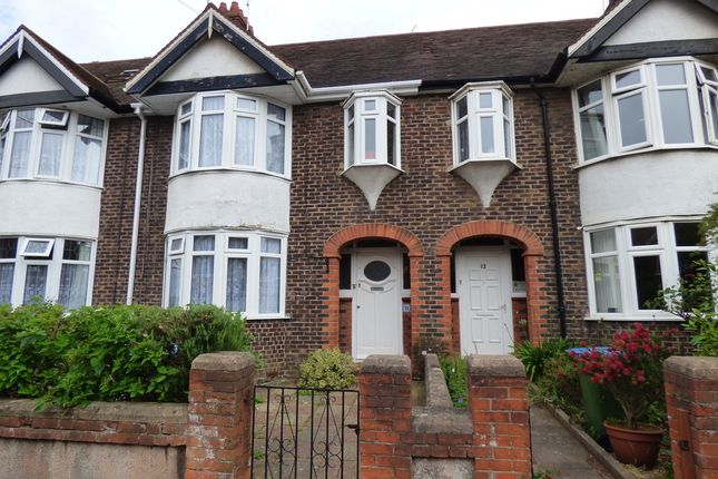 Thumbnail Terraced house to rent in Maxwell Road, Littlehampton