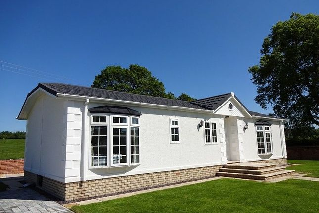Thumbnail Mobile/park home for sale in Dinwoodie Lodge Park Johnstonebridge, Lockerbie, Dumfriesshire.