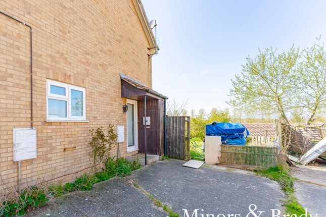 Thumbnail End terrace house for sale in Constable Close, Halesworth