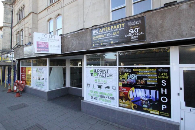 Thumbnail Restaurant/cafe to let in Regent Street, Weston-Super-Mare