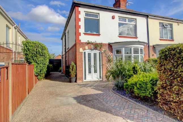 Thumbnail Semi-detached house for sale in Park Avenue, Grimsby