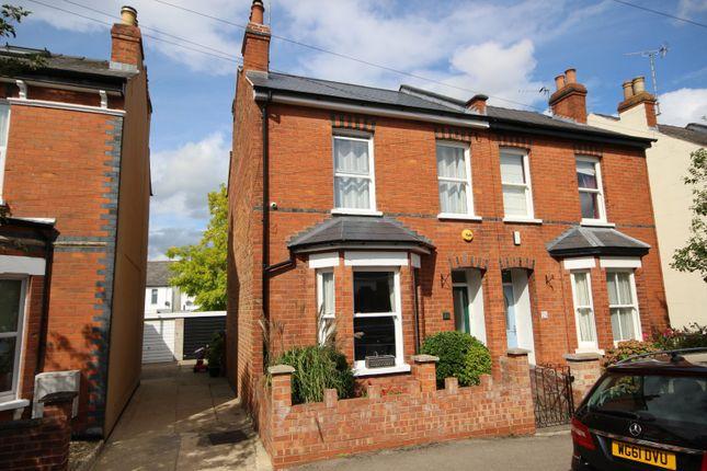 Thumbnail Semi-detached house for sale in Langdon Road, Leckhampton, Cheltenham, Gloucestershire