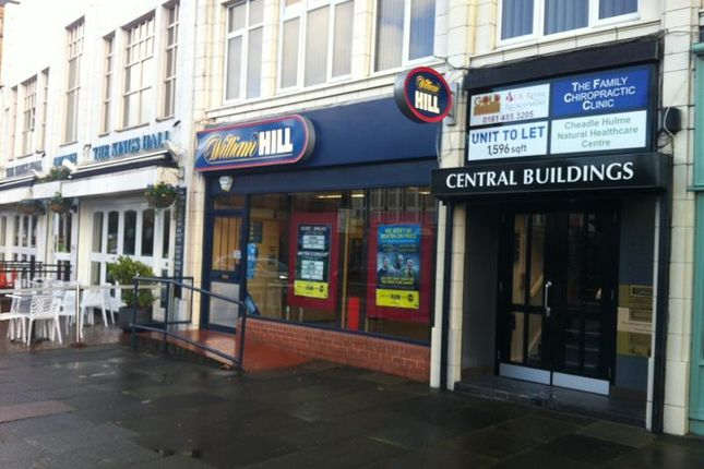Thumbnail Retail premises to let in 15 Station Road, Cheadle Hulme, Stockport