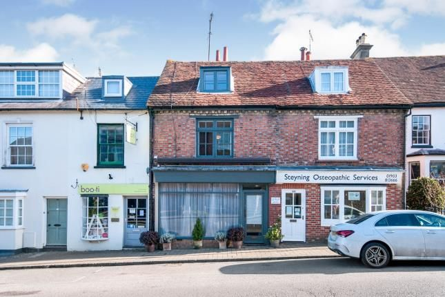 3 bed terraced house for sale in High Street, Steyning, West Sussex, England BN44