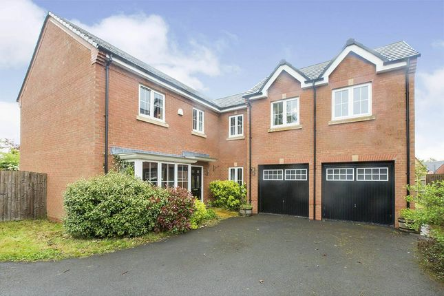 Thumbnail Detached house for sale in Goss Place, Alsager, Stoke-On-Trent, Cheshire