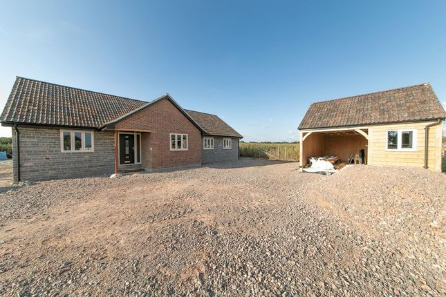 Thumbnail Detached bungalow for sale in Windmill Lane, Pibsbury, Langport