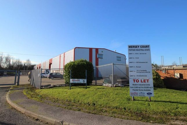 Thumbnail Industrial to let in Portside Industrial Estate, Ellesmere Port
